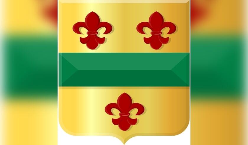 Het wapen van Hillegom.  Foto: SVvOH.