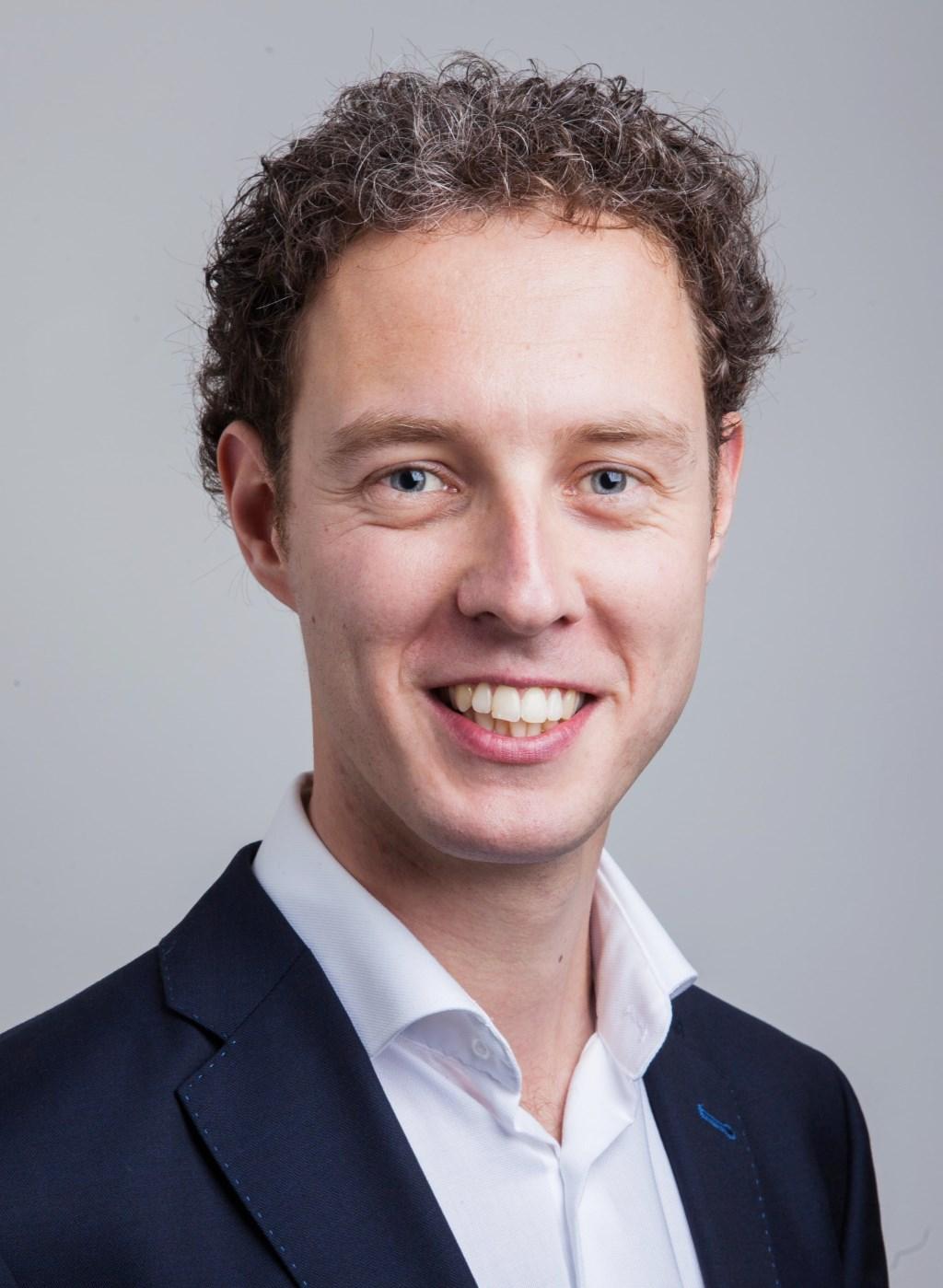 Matthijs van Tuijl, fractievoorzitter PvdA Foto: pr © uitgeverij Verhagen
