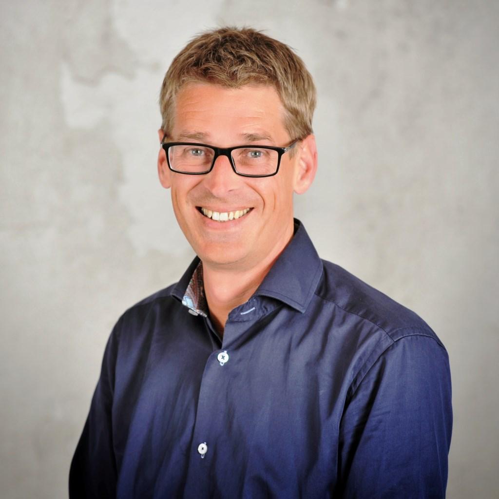 Rene Slootweg, fractievoorzitter GB Foto: pr © uitgeverij Verhagen