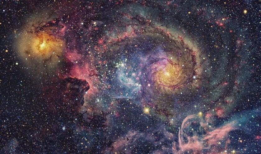 Dit soort foto's maakt de Hubble-telescoop.
