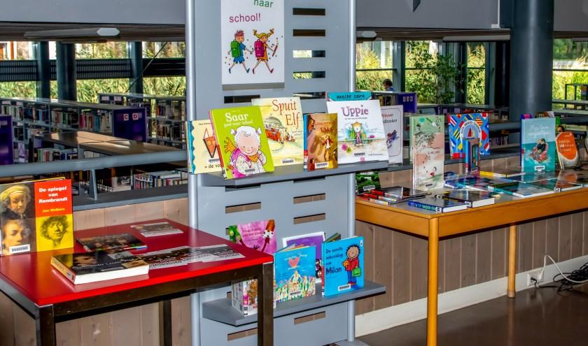 De bibliotheek in De Sterrentuin.