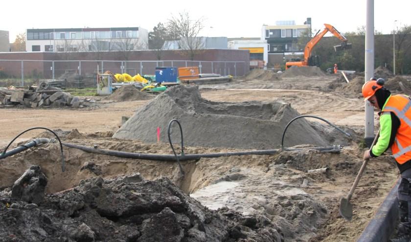 Het Noordwijkse college krijgt mandaat voor en snellere procedure woningbouw op locatie Northgoproject. | Foto: WS