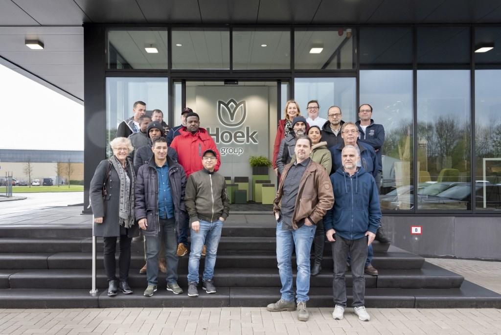 Jobsafari-deelnemers, medewerkers MareGroep, SPW en Hoek Group. Foto: Jeanette van Starkenburg © uitgeverij Verhagen