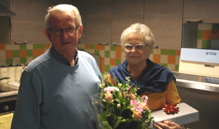 Echtpaar Heemskerk in Zorgsteunpunt Westerhaghe. | Foto: pr.