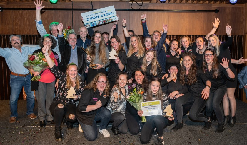 De winnaars van de Sportprijzen Teylingen 2018 en Het Beste Idee. | Foto: René van Dam
