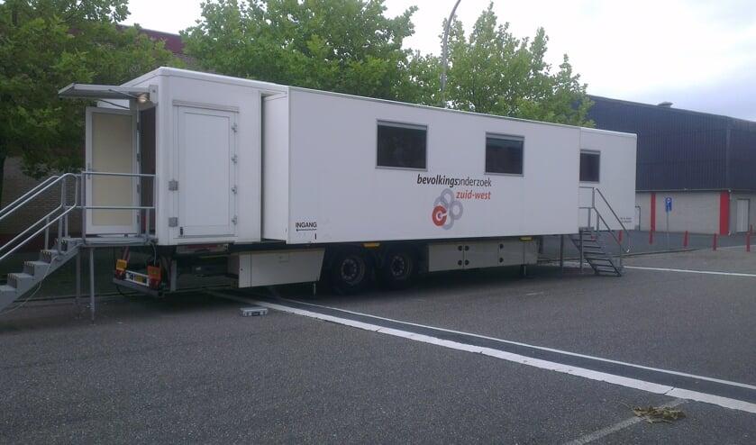 Het mobiele borstonderzoekscentrum komt te staan op het Meer en Houtplein.