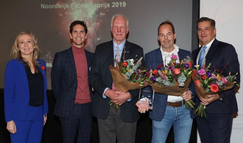 De genomineerden voor de Noordwijk Marketing Promotieprijs. | Foto: Marcel Verheggen