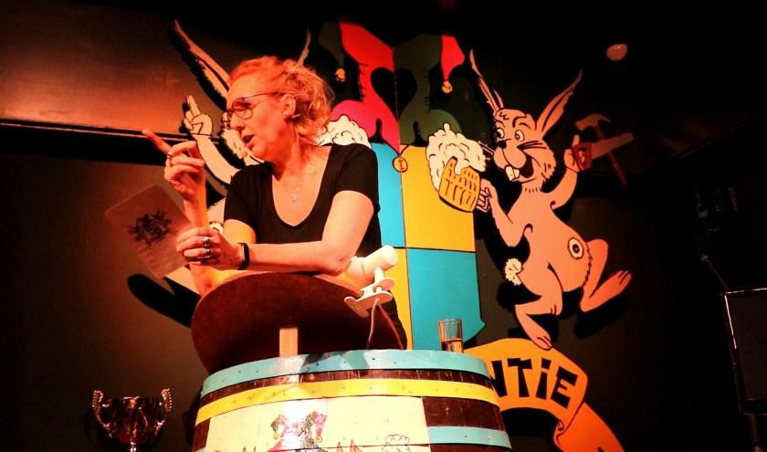 Leontine van der Klugt alias De Buuf won vorig jaar bij het Tonneprossen. | Foto: Archief