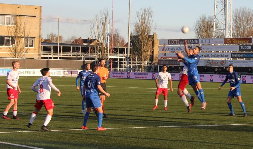 V.v. Noordwijk liet zaterdag de Treffers ver achter zich. | Foto: Wim Siemerink