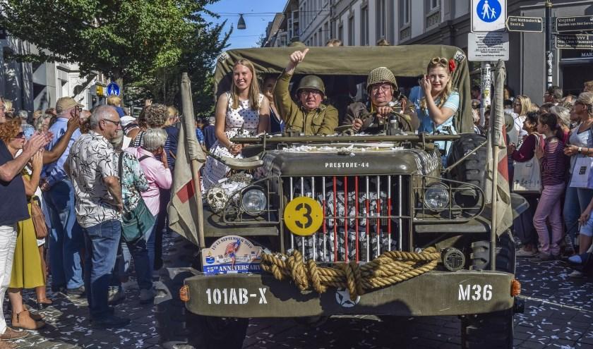 In Zuid-Nederland werd 75 jaar bevrijding dit jaar al gevierd.