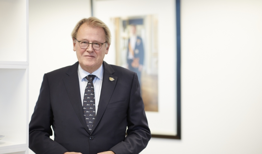 Commissaris van de Koning in Zuid-Holland Jaap Smit.