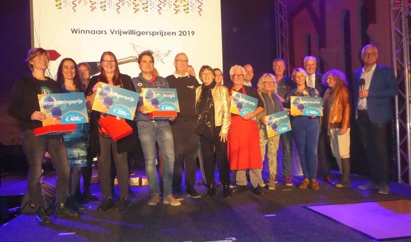 Tijdens de vrijwilligersavond werden de vrijwilligers van het jaar gekozen. | Foto: Ina Verblaauw