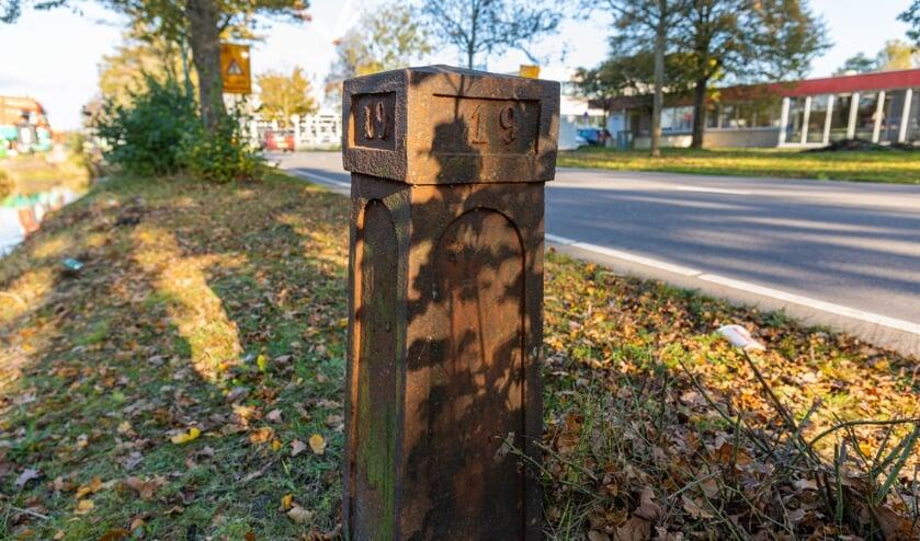 Kilometerpaal 19 voorgesteld als gemeentelijk monument.
