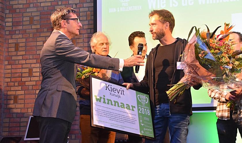 De winnaar van de Duurzaamheidsprijs 2018: Kievit. | Foto: archief