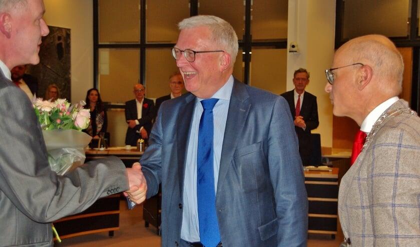 Peter Glasbeek bij zijn aantreden als wethouder op 28 maart 2019. | Archieffoto Willemien Timmers