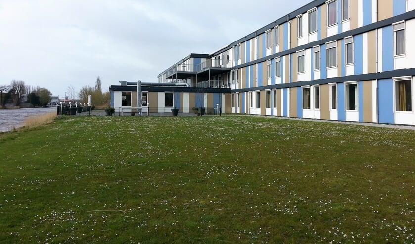 <p>De tijdelijke huisvesting van Salem DSV staat in Kleipetten Zuid. | Foto: CvdS</p>
