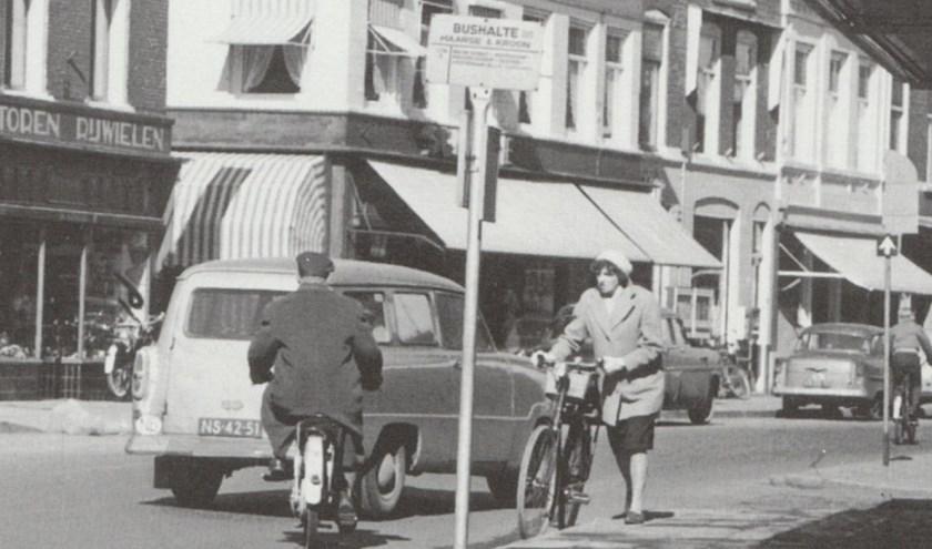 De Hoofdstraat, eind jaren 60.