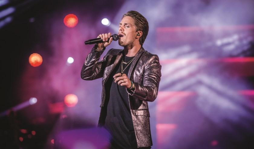 André Hazes in concert. Foto: Ben Houdijk.
