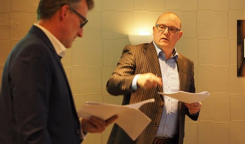 OVDL voorzitter George Hoogkamer en centrummanager John van der Tol. | Foto: Monique Hoogkamer