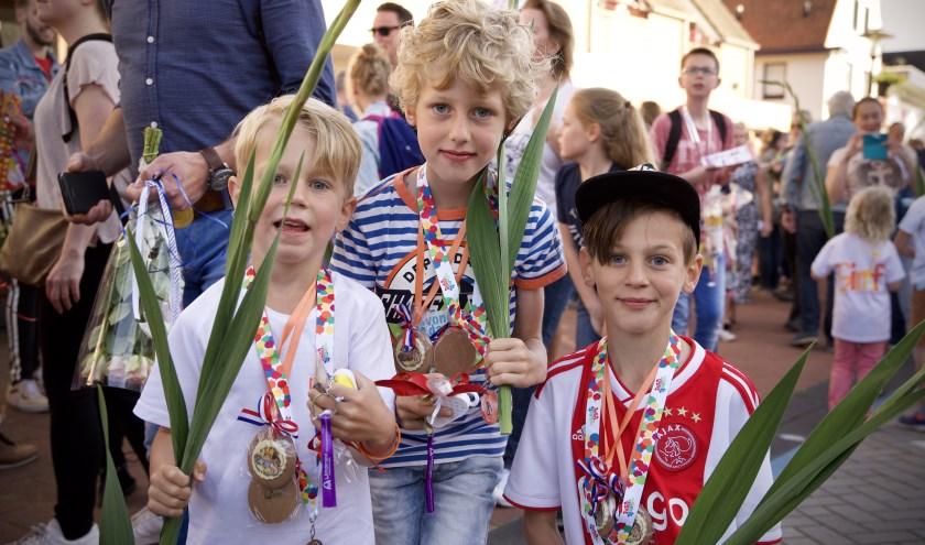 De medaille is binnen! | Foto: Tonny de Rooij - Hillegom Online.