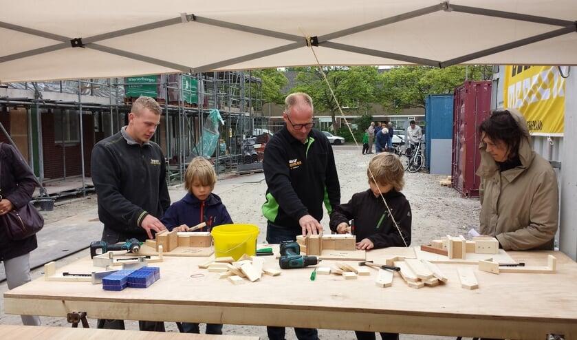 Tijdens de Dag van de Bouw is men welkom bij bouwproject Offem Zuid.   Foto: PR
