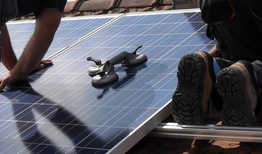 Particulieren hebben vooral gebruik gemaakt van de duurzaamheidslening om hun huis te voorzien van zonnepanelen.