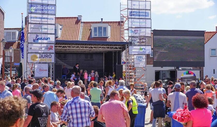 De finish is op het Andreasplein in het centrum achter de Oude Kerk. Er kan tot 17.30 uur worden gefinisht.