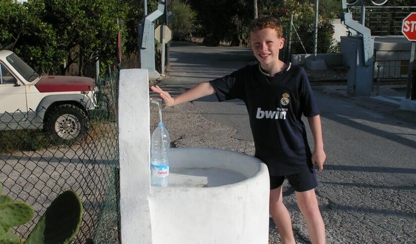 Een plek in Spanje voor gratis drinkwater. | Foto hans Oudendorp