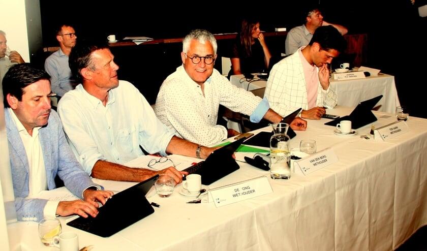 De wethouders beluisterden de wensen en ideeën van de gemeenteraad. | Foto: WS
