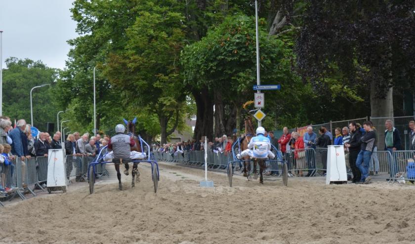 Geen paarden op de Herenweg dit jaar.