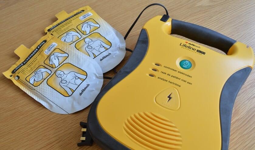 <p>Een Automatische Externe Defibrillator, oftewel AED.</p>
