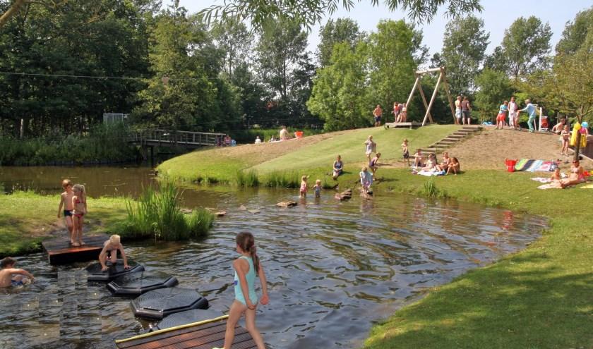 Waterplezier in de Speelakker. | Foto: archief