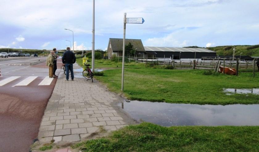 Een kijkje op parkeerterrein Noordduinen. | Foto: pr