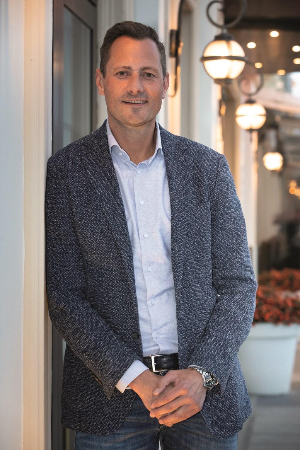 Dennis van der Lubbe, managing director Bloemenbureau Holland. Foto: W.H.Zandbergen © Verhagen