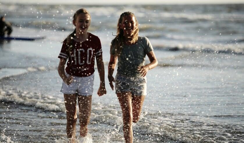 Het hoge water maakte de laatste Strandloop extra zwaar. | Foto: PR