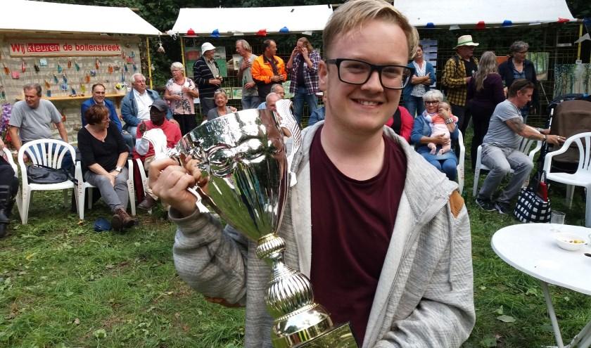 De Cup met de Gouden Oren ging naar Voorhouter Casper Dangerman.