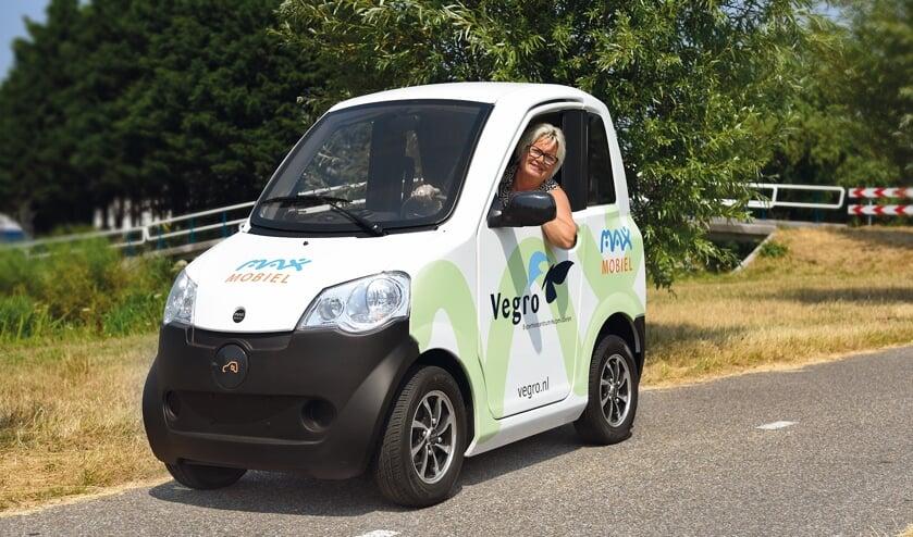 De MAXmobiel is een ideaal vervoersmiddel voor ritjes in de binnenstad.