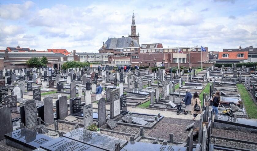 De oude begraafplaats aan de Zuidstraat. | Foto: pr