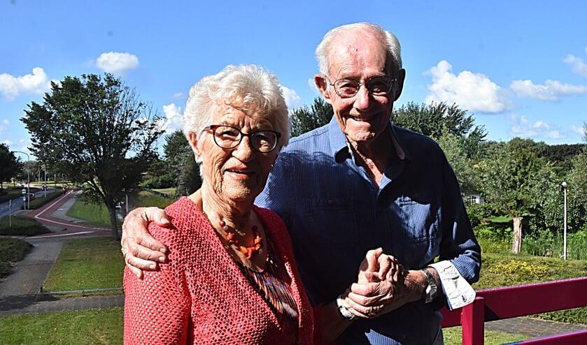 Herman en Coby van Hulzen vierden hun briljanten bruiloft. | Foto en tekst: Piet van Kampen