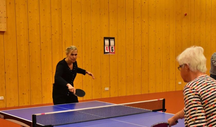 Bettine Vriesekoop vertelt alles over haar sport.   Foto: PR