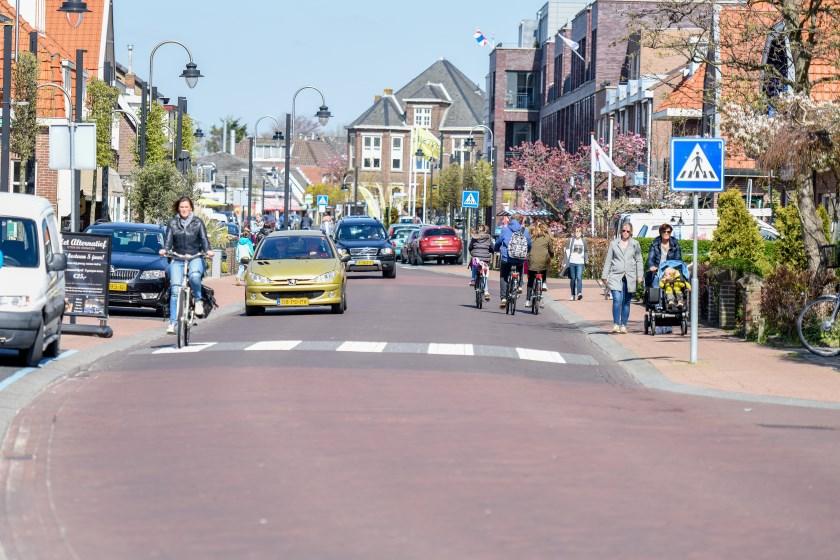 Een groot deel van de fietsers en automobilisten ervaart de Herenstraat als niet veilig. | Foto: pr.