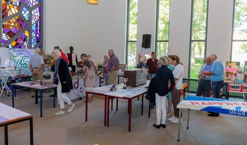 De sporttentoonstelling in het Dorpscentrum is ook op zondag geopend.