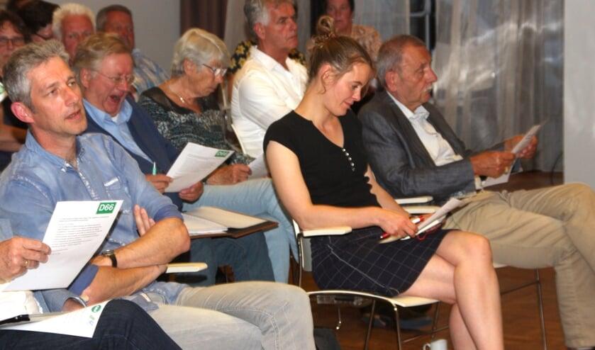 Cynthia Maan neemt zitting in de gemeenteraad voor GroenLinks.   Foto: WS