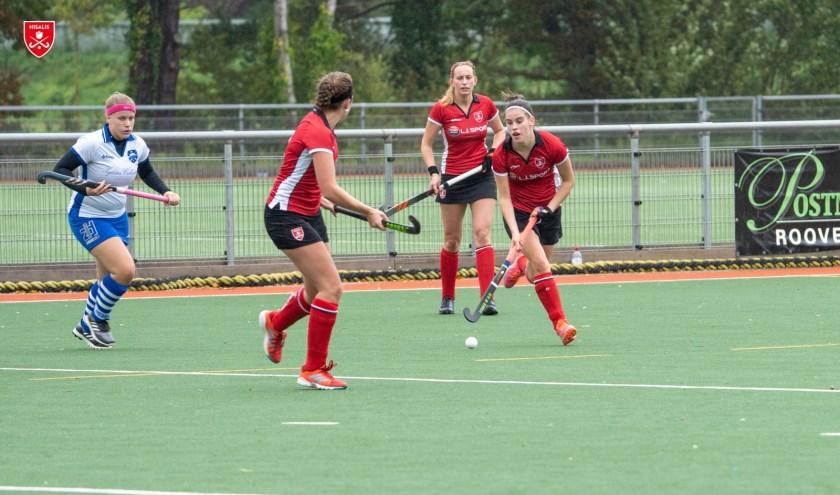 Dames 1 Hisalis speelde thuis tegen Purmerend.