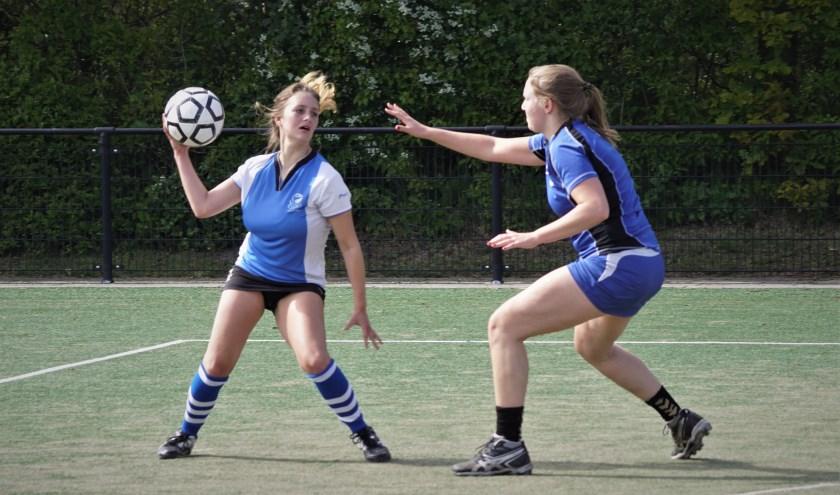 Joella van Baren tekende voor 2 Fluks-treffers. | Foto: PR
