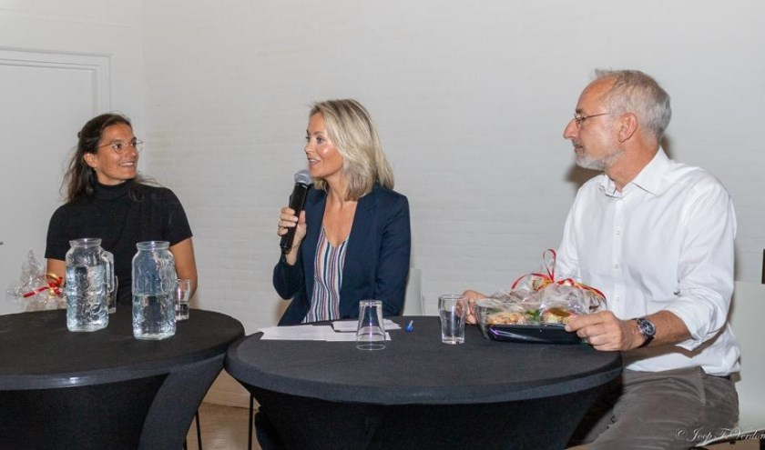 Marili 't Hooft, Esther Peters en Peter Frans Pauwels. |
