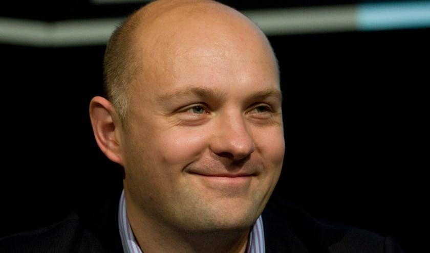 Boris van der Ham is te gast op het Boekenbal. | Foto: Marcel Oosterwijk