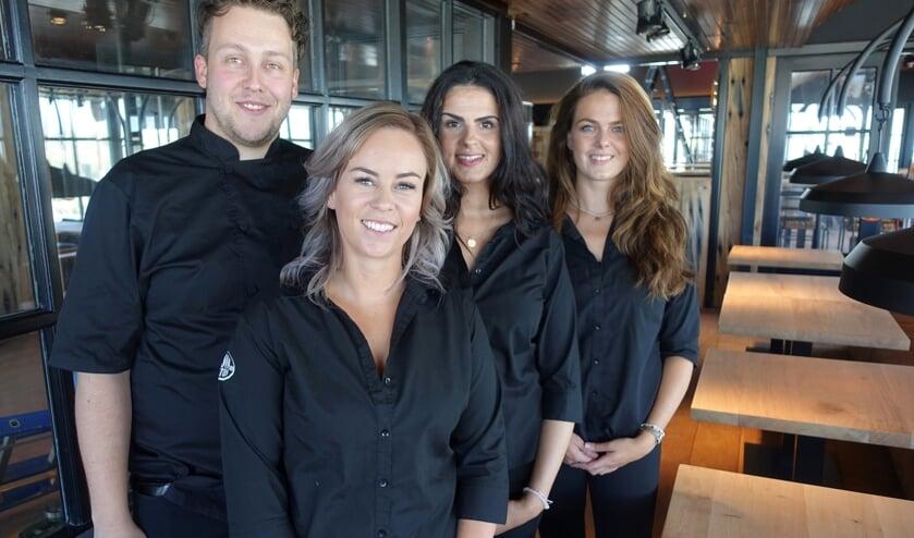 Het team van Hudson met op de voorgrond bedrijfsleider Rowan. | Foto: AvD