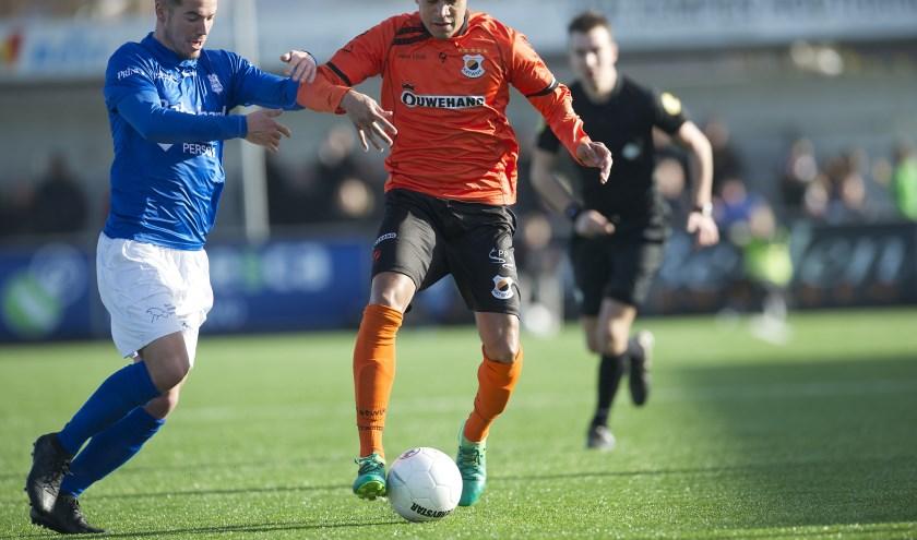 Damiano Schet in actie. | Foto: OrangePictures