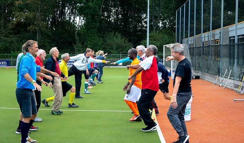 <p>Lekker bewegen en plezier hebben, daar gaat het om bij de OldStars sporten.</p>